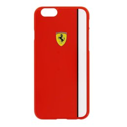 Ferrari Scuderia iPhone 6 / 6S  Back Cover Hoesje - Rood