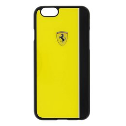 Ferrari Scuderia iPhone 6 / 6S Back Cover Hoesje - Geel