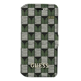 GUESS iPhone 6 / 6S Denim Stijl Book Case Hoesje Groen