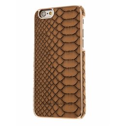 Richmond & Finch iPhone 6 / 6S Framed Rosé Reptile Bruin Back Cover Hoesje