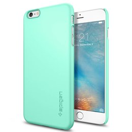 Spigen Thin Fit Apple iPhone 6 Plus / 6S Plus Hoesje - SGP11639 - Groen