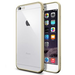 Spigen iPhone 6 Plus / 6S Plus Ultra Hybrid Back Cover Hoesje - SGP10895 - Goud