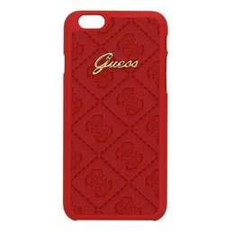 GUESS iPhone 6  / 6S Back Cover Hoesje Rood