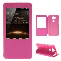 Huawei G8 View Cover - Roze