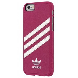 Adidas Colors Moulded Back Cover Hoesje voor iPhone 6 / 6S - Roze