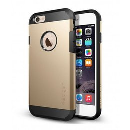 Spigen Apple iPhone 6 / 6S Tough Armor Backcover Hoesje - SGP10970 - Goud