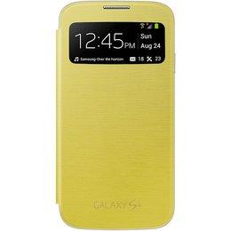 Samsung Origineel Galaxy S4 S View Flip Cover Geel