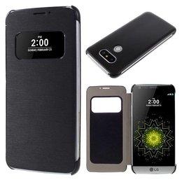 LG G5 Flip Smart Window View Hoesje - Zwart