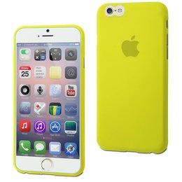 Muvit ThinGel TPU Flexibele Back Cover iPhone 6 / 6S - Acid Groen