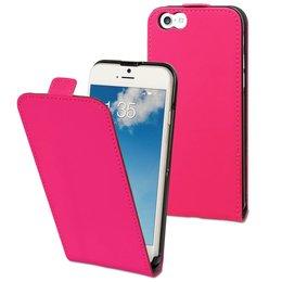 Muvit iPhone 6 / 6S Slim Flip Hoesje Roze