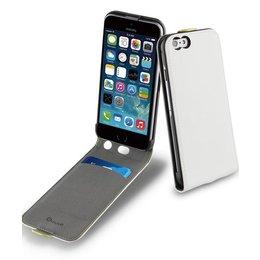 Muvit iPhone 6 / 6S Slim Flip Hoesje Wit