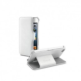 Muvit iPhone SE / 5S / 5 Folio Stand Hoesje - Wit