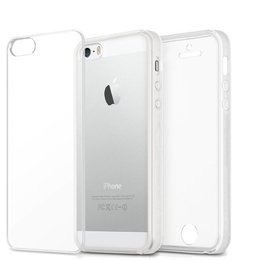 iPhone SE / 5 / 5S - 360° Full TPU Cover -Crystal Clear