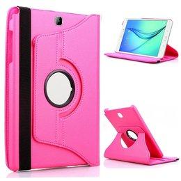 Samsung Galaxy Tab A 9.7 Draaibare Hoesje - Hot Pink