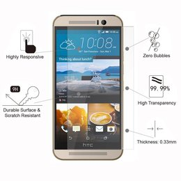 HTC One M9 Screenprotector Tempered Glass