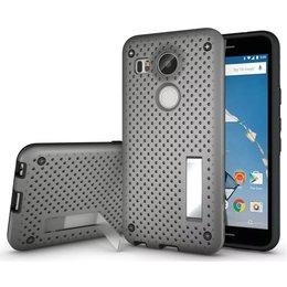 LG Nexus 5X Hybrid Case - Grijs