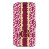 GUESS iPhone 6 / 6S G-Cube Bookcase Telefoonhoesje - Roze