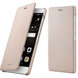 Huawei P9 Lite Book Flip Hoesje - Goud
