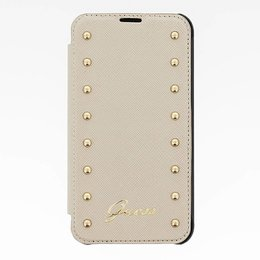 GUESS Galaxy S5 / S5 Plus / S5 Neo Studded Folio Book Case