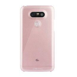 LG Originele CSV-180 Crystal Hard Case Back Cover voor LG G5 - Roze