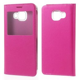 S-View Flip Cover Galaxy A3 (2016) - Hot Pink