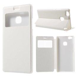 Huawei P9 Lite Hoesje Window View Case - Wit