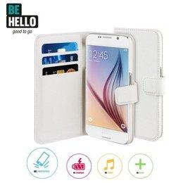 BeHello Galaxy S6 Edge Plus Wallet Case - Wit