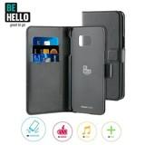 BeHello Galaxy S6 Edge Wallet Case - Zwart