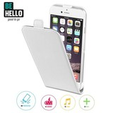 BeHello iPhone 6 / 6S Flip Case - Wit