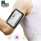 BeHello iPhone SE/5S/5C/5 Sportarmband - Zwart