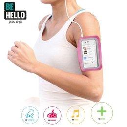 BeHello iPhone SE/5S/5C/5 Sportarmband - Roze