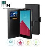 BeHello LG G4 Wallet Case - Zwart