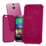 HTC HC M100 Dot View Case HTC One M8 / M8S Paars
