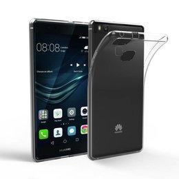 Huawei P9 Lite 0.3MM TPU Ultra Dun Back Cover Beschermhoes Transparant