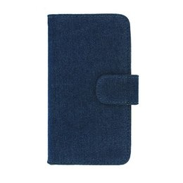 Galaxy S5 Denim Stijl Book Case