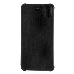 Zwarte Dot View Case voor HTC Desire 626