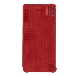 Rood Dot View Case voor HTC Desire 626