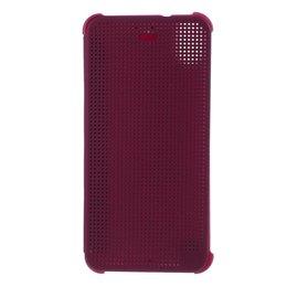 Paars Dot View Case voor HTC Desire 626