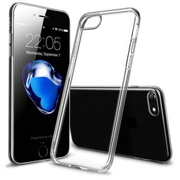 Transparant 0.3MM TPU Flexibele Back Cover iPhone 7 (4,7 inch)