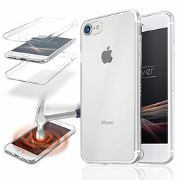iPhone 7 - 360° Full TPU Cover -Crystal Clear