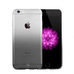 FSHANG iPhone 7 Rainbow Series Tweekleurig TPU Hoesje Grijs