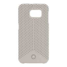 Mercedes-Benz Galaxy S6 Pure Line Perforated Leather Hard Case