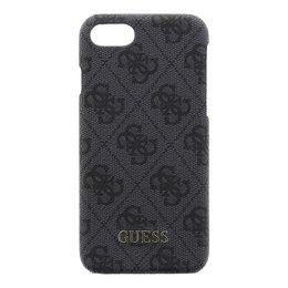 GUESS 4G iPhone 7 Hard Case Grijs