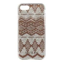 GUESS iPhone 7 Ethnic Chic Tribal 3D TPU Hoesje