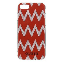 GUESS iPhone 7 Ethnic Chic Chevron 3D TPU Hoesje