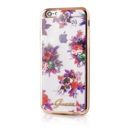 GUESS iPhone 6 / 6S Blossom Ultra Dun Flexibele TPU Hoesje
