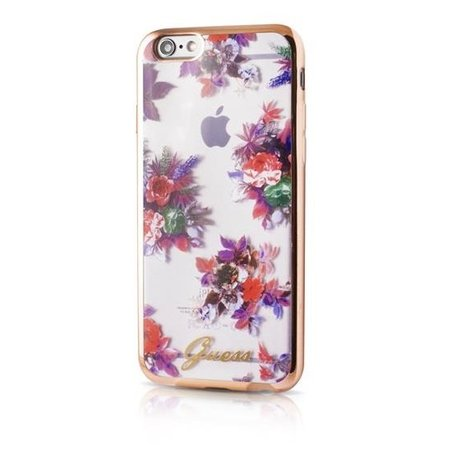 GUESS Blossom Ultra Dun Flexibele TPU Hoesje voor Apple iPhone 6 / 6S