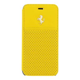 Ferrari iPhone 6 / 6S GTB Book Case - Geel