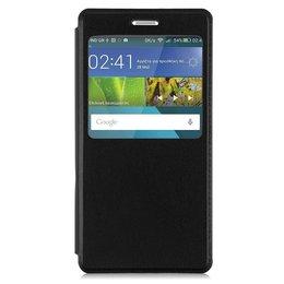 Huawei P8 Lite Smart / GR3 Hoesje Window View Case - Zwart