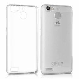 Huawei P8 Lite Smart / GR3 0.3MM TPU Ultra Dun Back Cover Transparant Beschermhoes